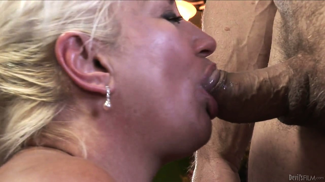 Porn Tube of Horny Experienced Grandma Sucking Cock In A Old-young Blowjob Video