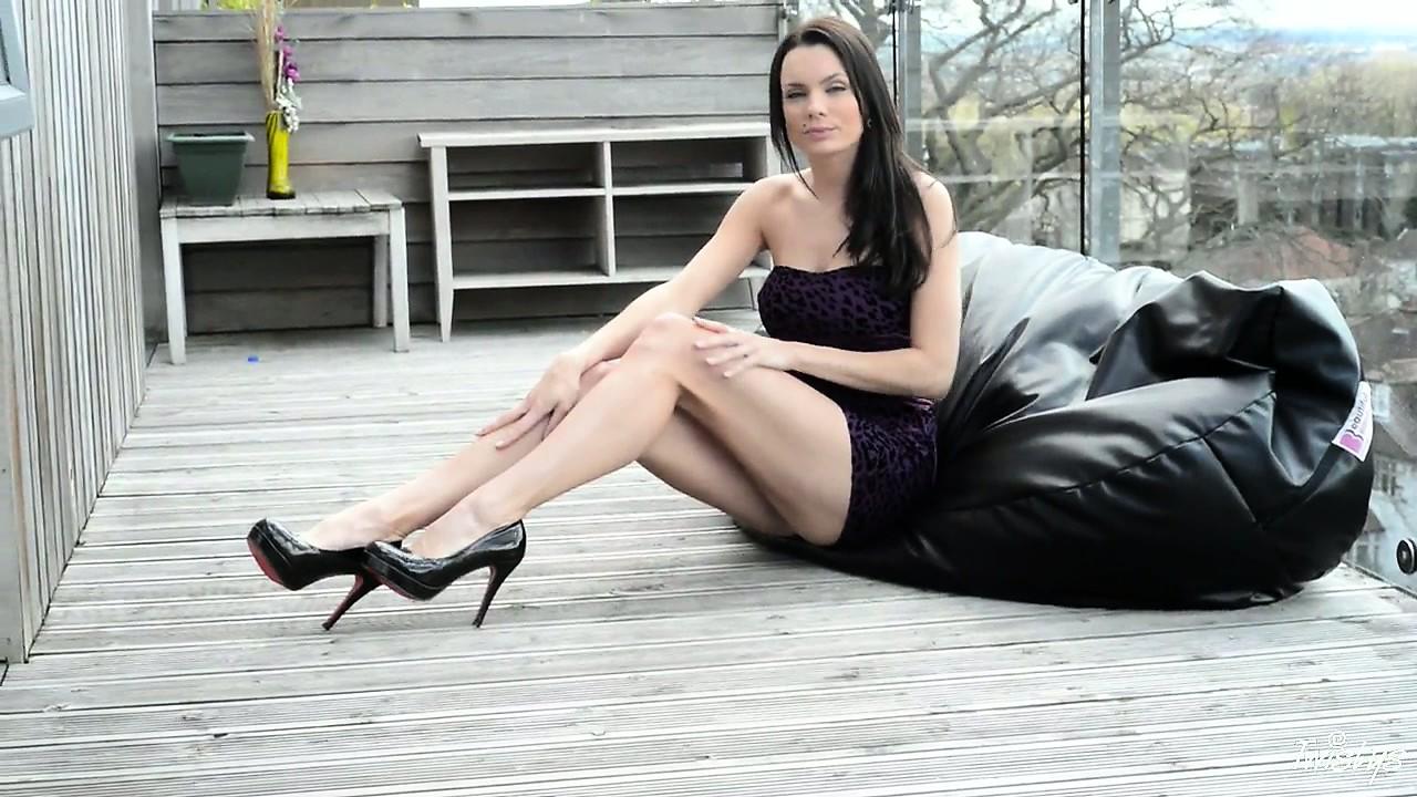 Porn Tube of She's So Naughty That She Wears Erotic Lingerie Under Her Dresses