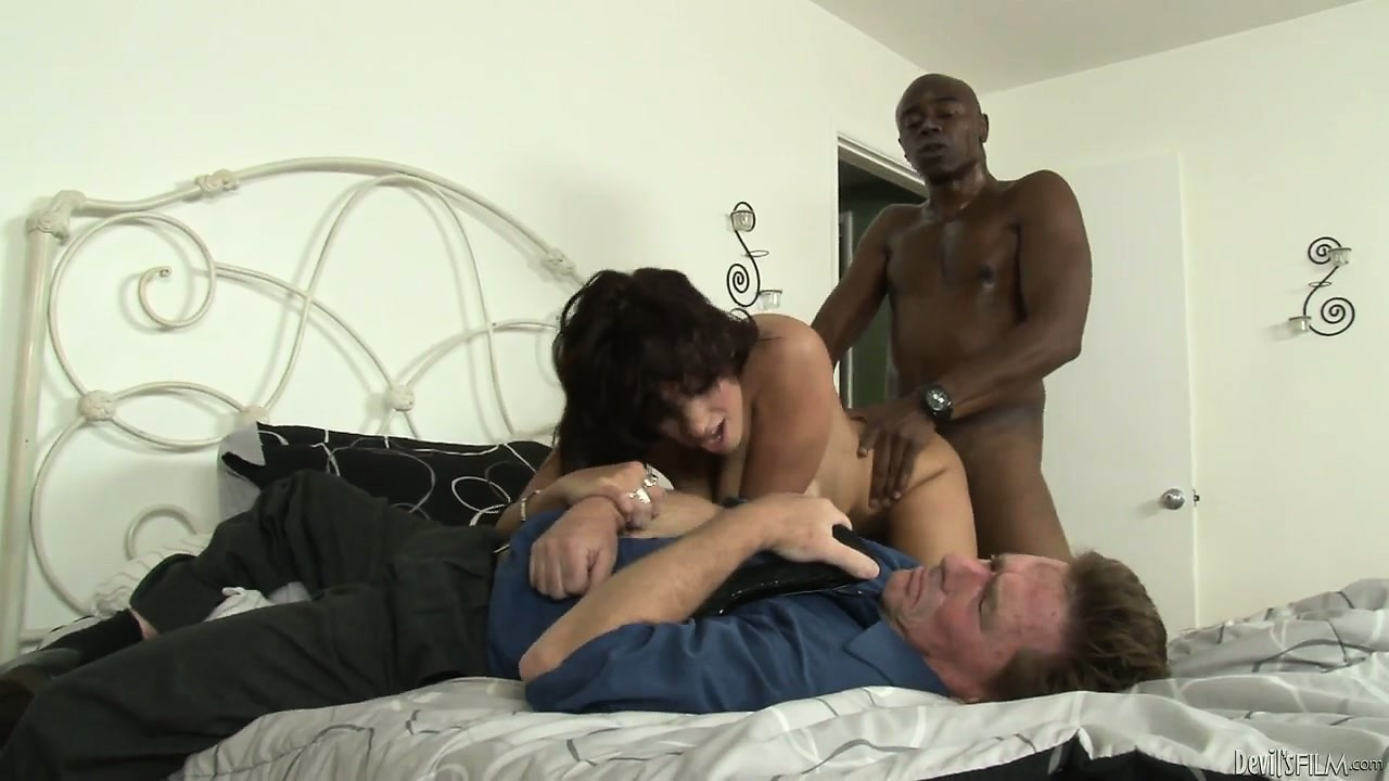 Porno Video of Sexy Brunette Milf With Tats Makes Cuckold Hubby Pay With Bbc Show