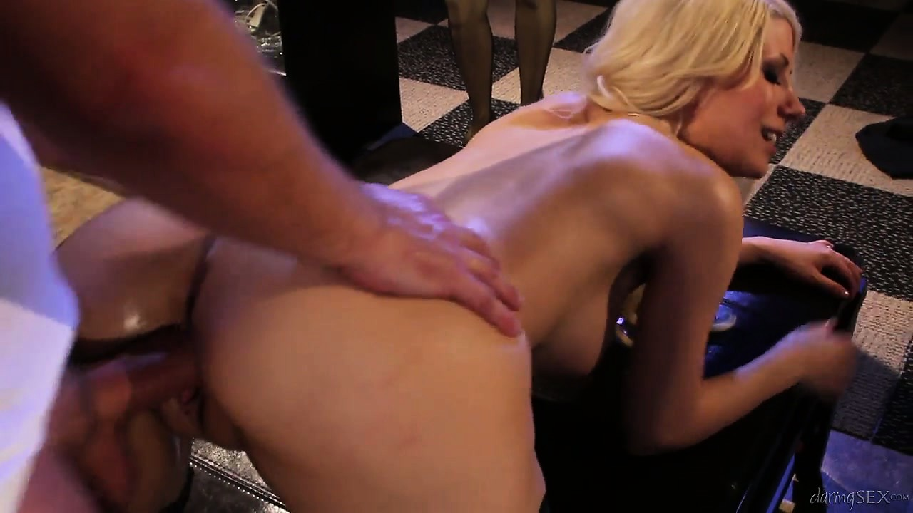 Porn Tube of Blonde Police Officer Fucking Hard With Her Colleague In An Empty Store