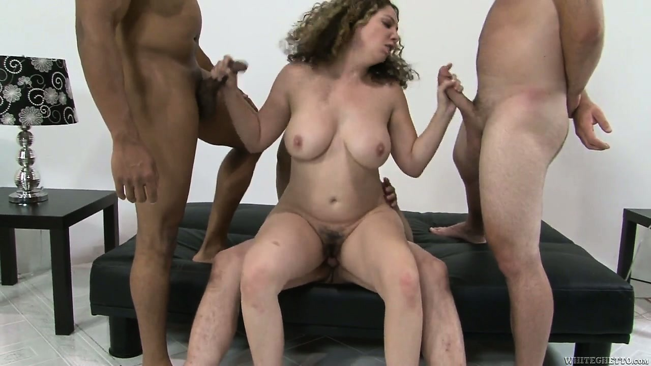 Porno Video of Brunette Slut Has A Hairy Hole In Need Of A Multiple Cock Gangbang