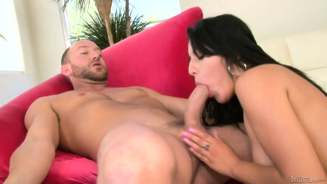 Porno Video of Petite Brunette Bird Gets On Her Knees To Blow Her Older Lover