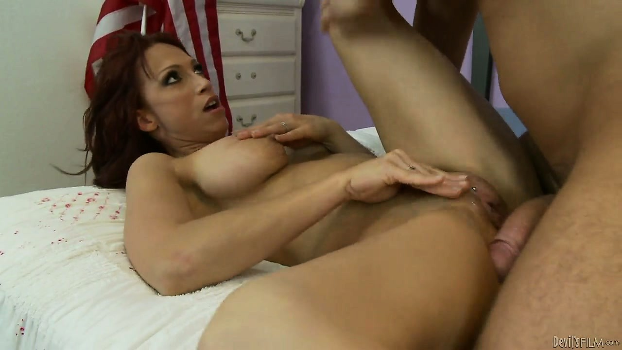 Porn Tube of Don't Tell My Daddy, But I Fucked His Hot Redheaded Wife Today