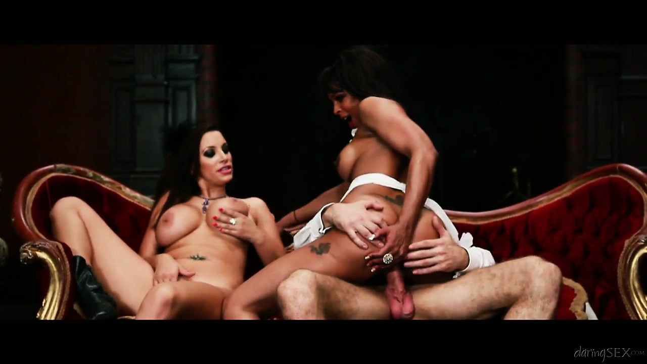 Porno Video of Porcha Sins, Paige Turnah And Kitty Cox Fucking Hard In A Hot Group Sex Scene