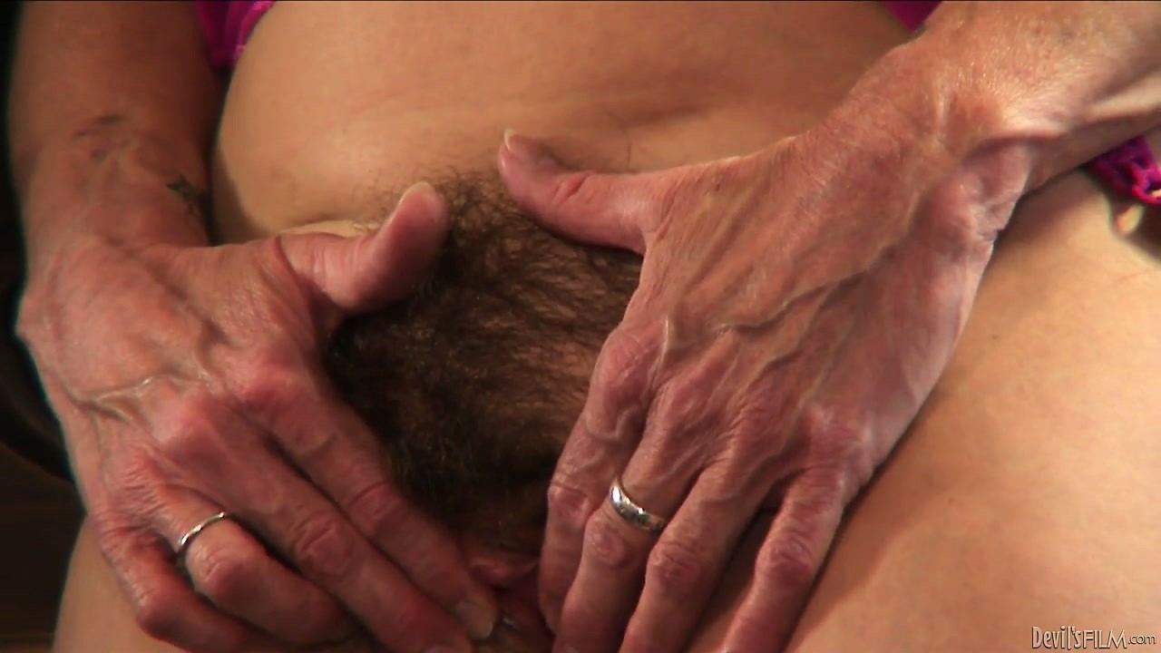 Porno Video of Horny Grannies Love To Get Fucked And This One's Hairy Pussy Gets Lucky