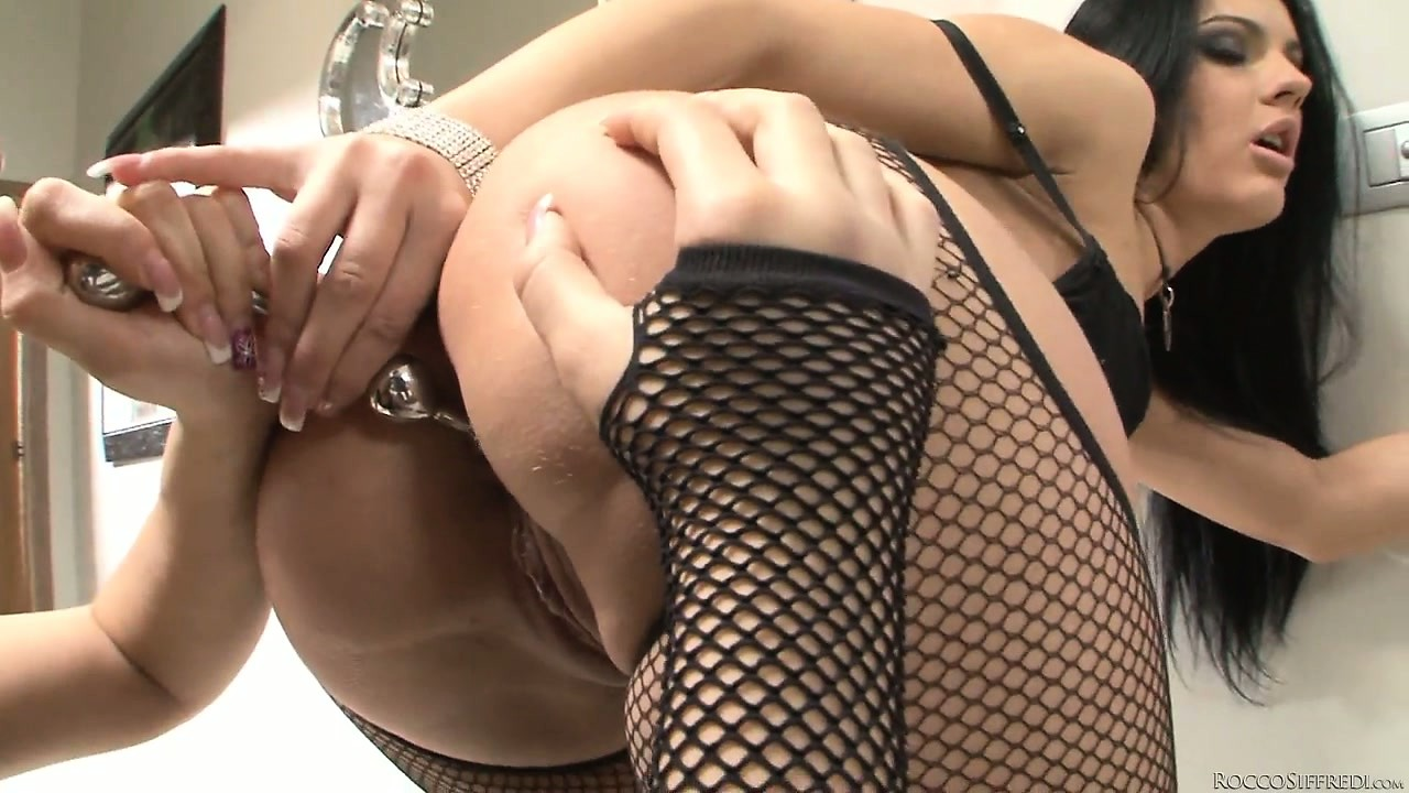 Porno Video of Sexy Brunette Duo In Slutty Lingerie Licking Pussy And Using Anal Beads