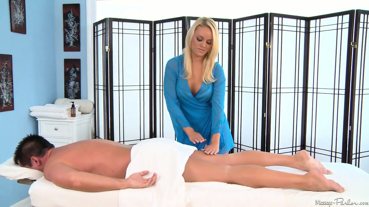 Porno Video of The Blonde Massage Therapist Has A Marvelous Body And Is Yearning For A Big Cock