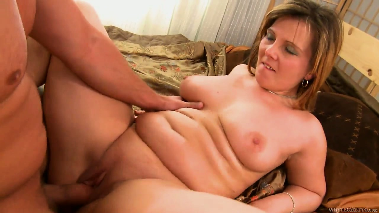 Porn Tube of He's Pounding His Friend's Chubby Mom And Nails Her Bald Cunt