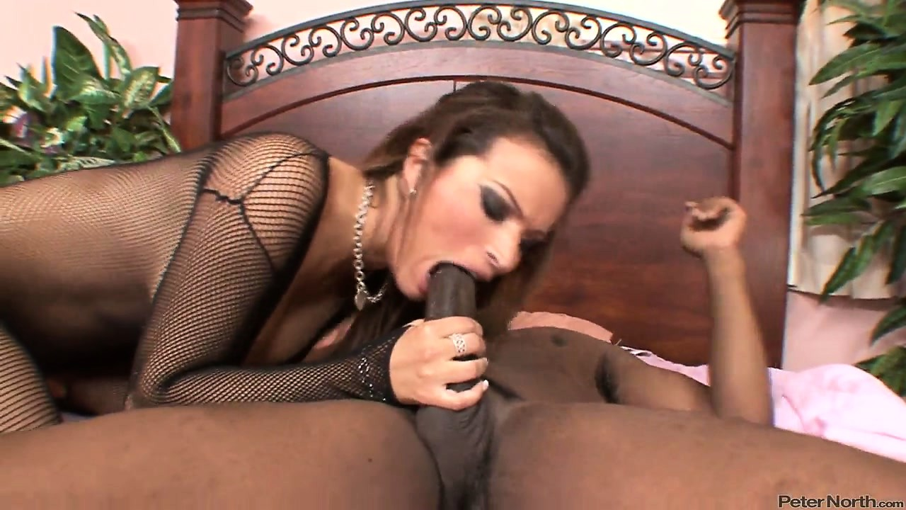 Porno Video of Stunning Brunette With Awesome Big Tits Is Yearning For A Black Cock