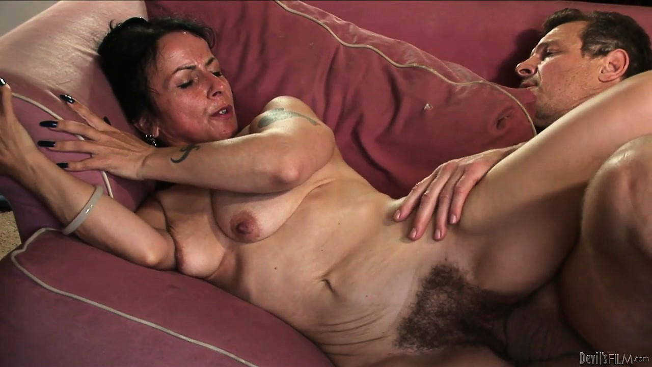 Porno Video of He's Banging Your Mom's Hairy Snatch And She's Enjoying The Hell Out Of It