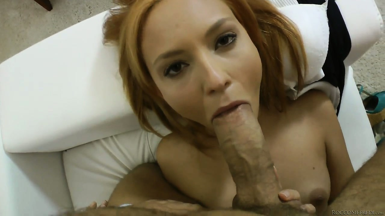 Porn Tube of Rocco Having His Cock Sucked Hard By The Young Czech Babe He Invited Over