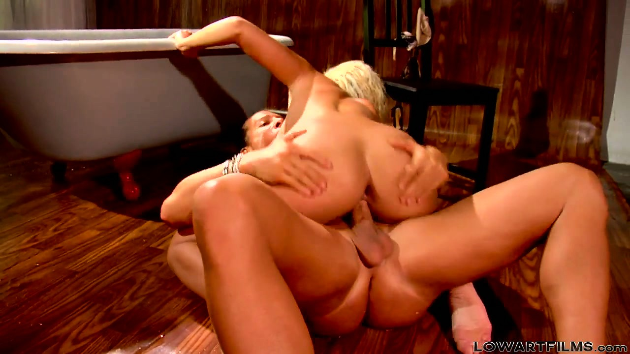 Porn Tube of Wild Blonde Bridget B Reaches For The Cool Prick Of Nick Manning