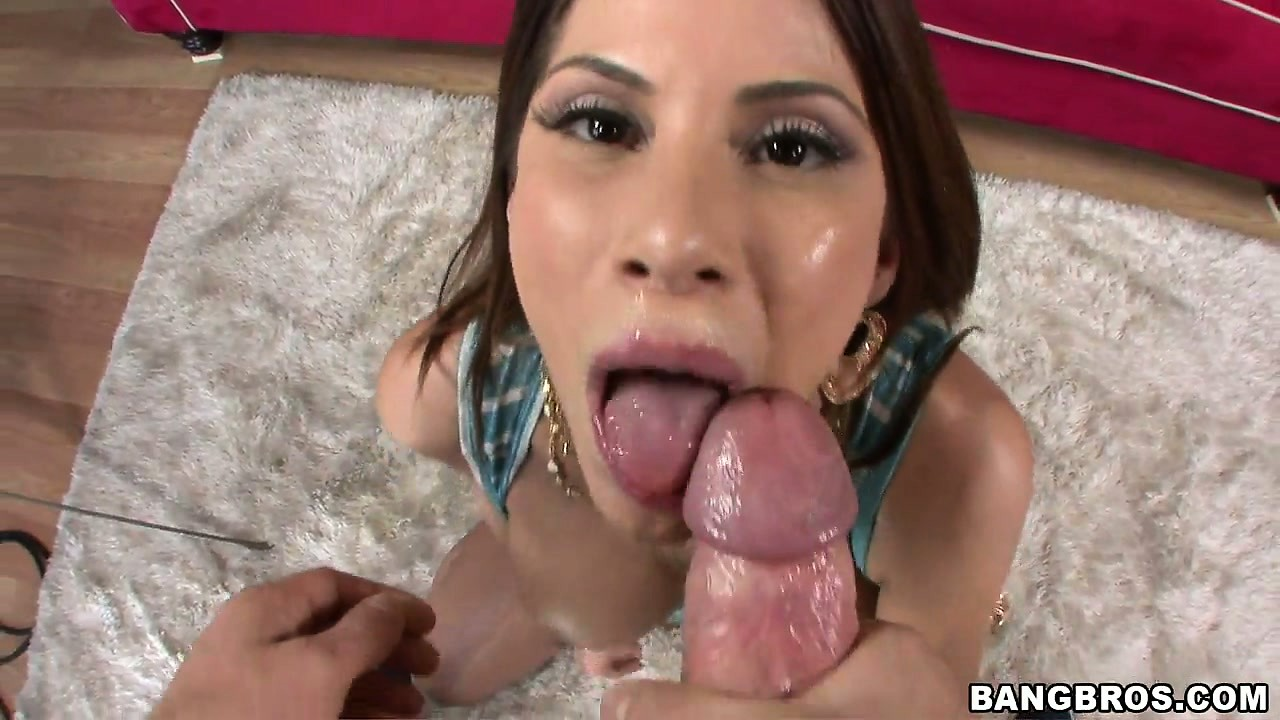 Porno Video of After A Deepthroat And A Ball Sucking Scene, The Hot Babe Gets It In Her Asshole