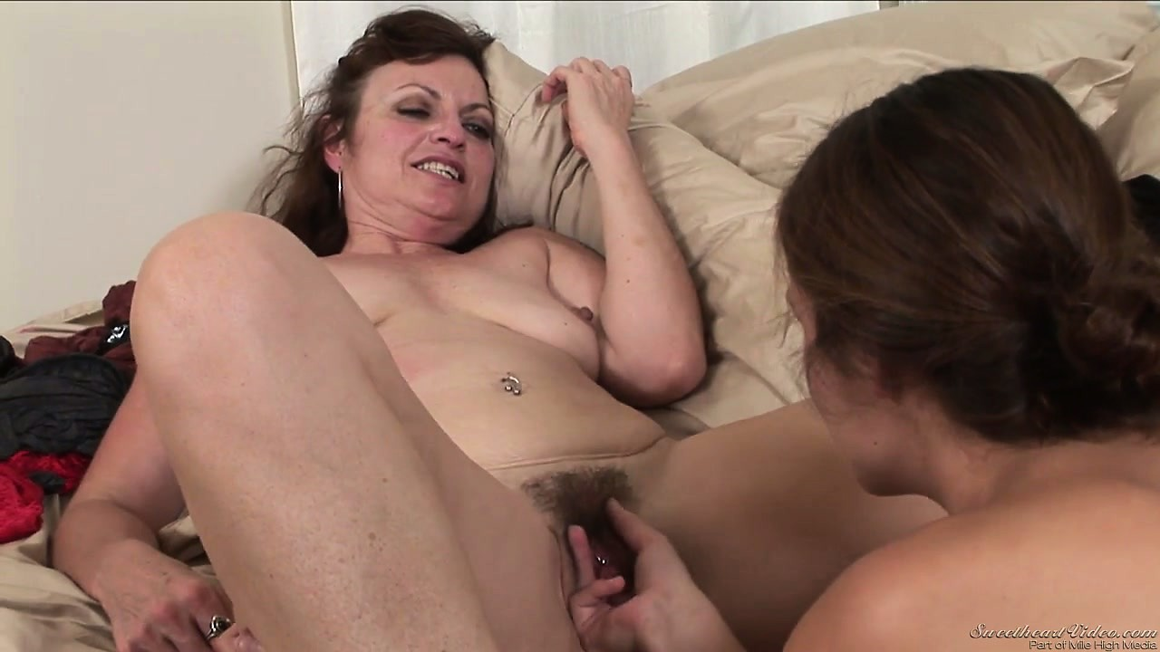 Porn Tube of Busty Mature Lesbo Gets Licked And Then Gets It Poked With Fingers