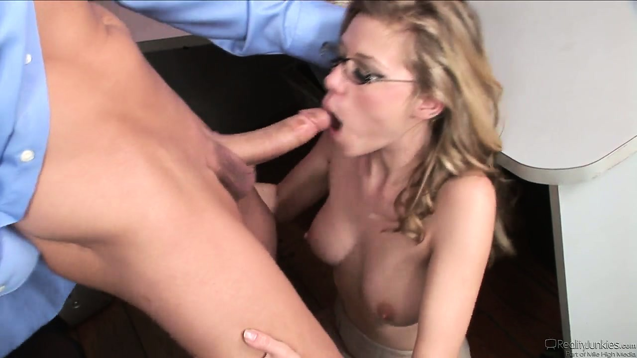 Porn Tube of Horny Secretary Babe Nicole Ray Sucking Cock And Riding It In A Hardcore Porno