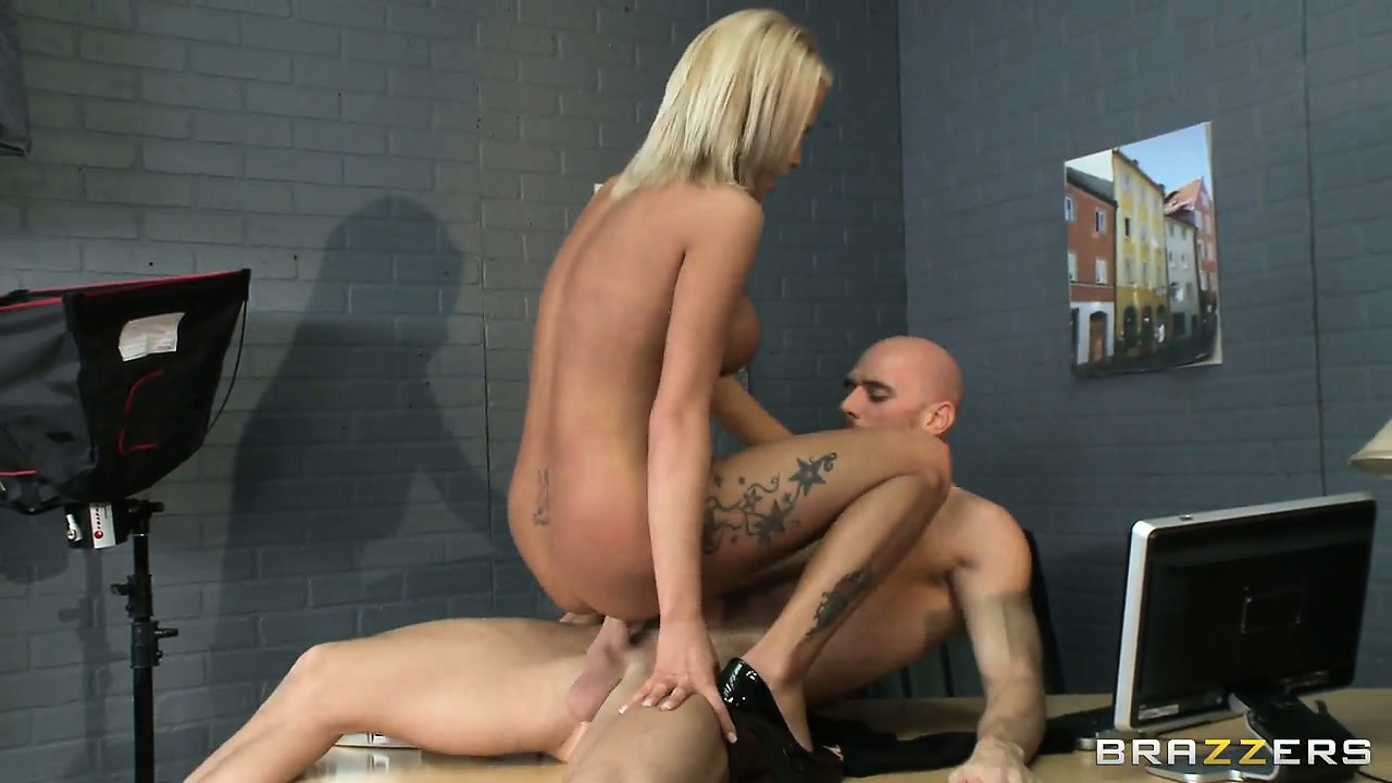 Sex Movie of Riding That Big Shaft Allows The Hot Blonde To Enjoy Intense Pleasure