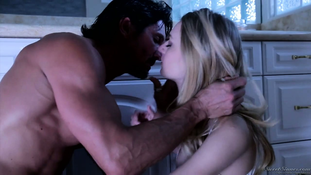 Porn Tube of He's A Horny Father Figure And She's A Cute Young Blonde So They Make Out