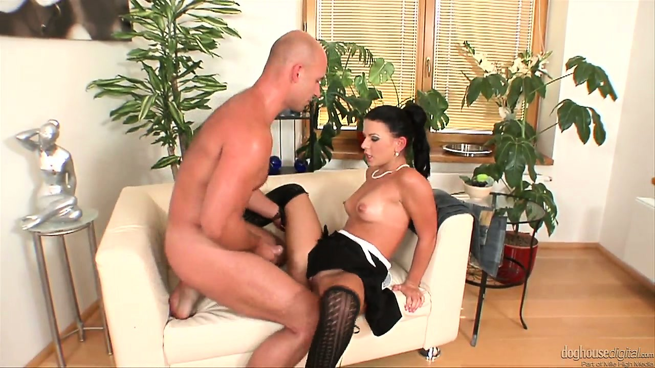 Porno Video of Evil Bitch With Small Perky Tits And In Black Lingerie Manages To Make This Man Crazy