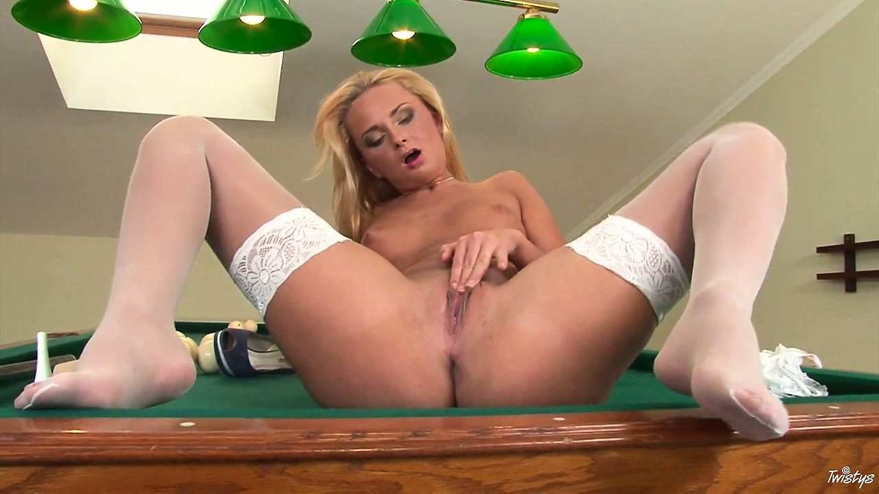 Porno Video of The Game Of Pool This Blondie Wants To Play Is Beyond Naughty