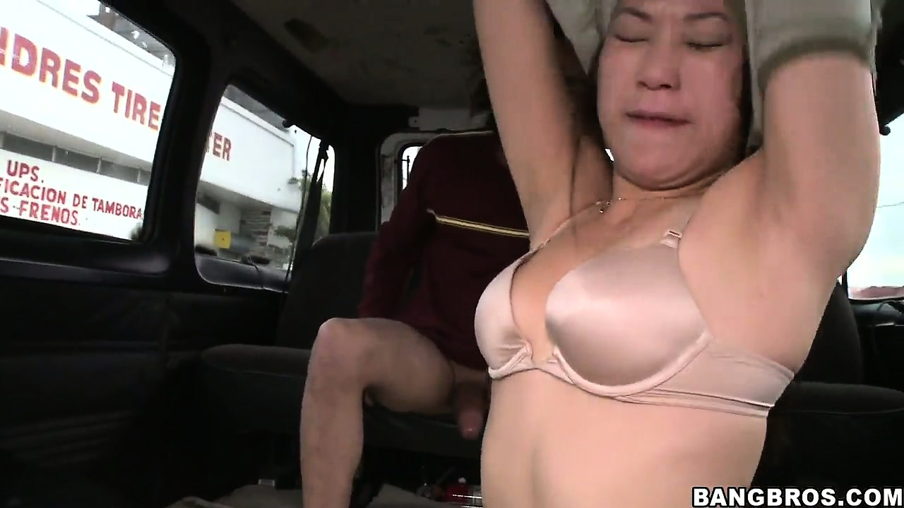 Porno Video of Slightly Chubby Asian Babe Rubs Her Tight Cunt After Sucking Dick