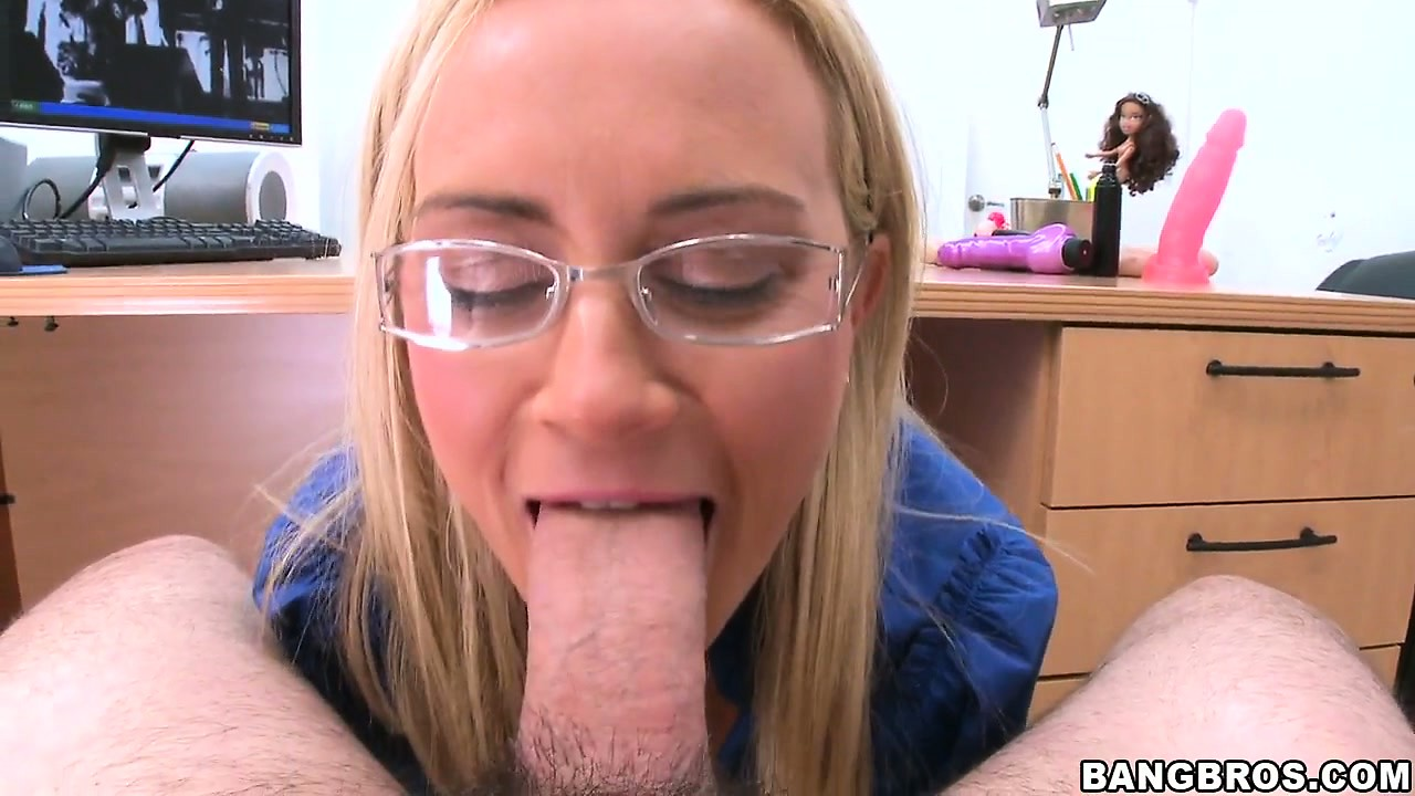 Porno Video of The Horny Blonde Has Striking Blue Eyes And Can't Get Enough Of That Dick In Her Cunt