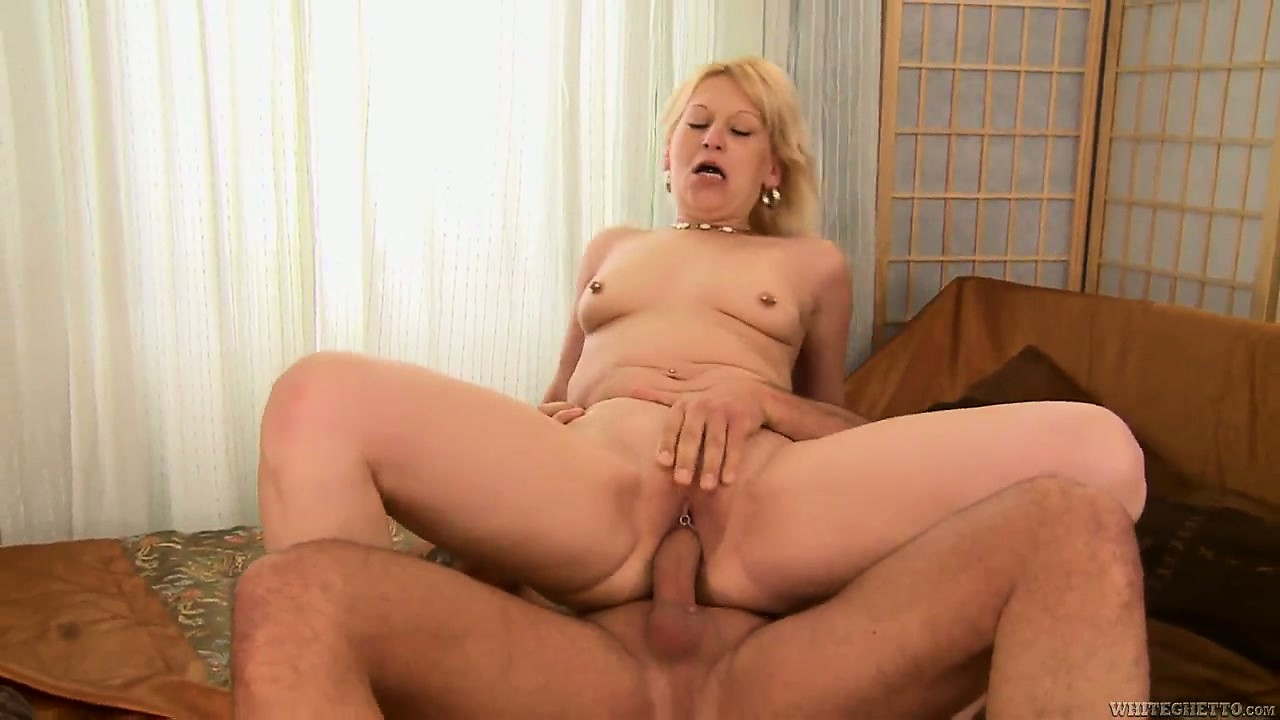 Porno Video of Every Stroke Of Cock Inside Her Pussy Makes The Horny Blonde Sigh With Pleasure