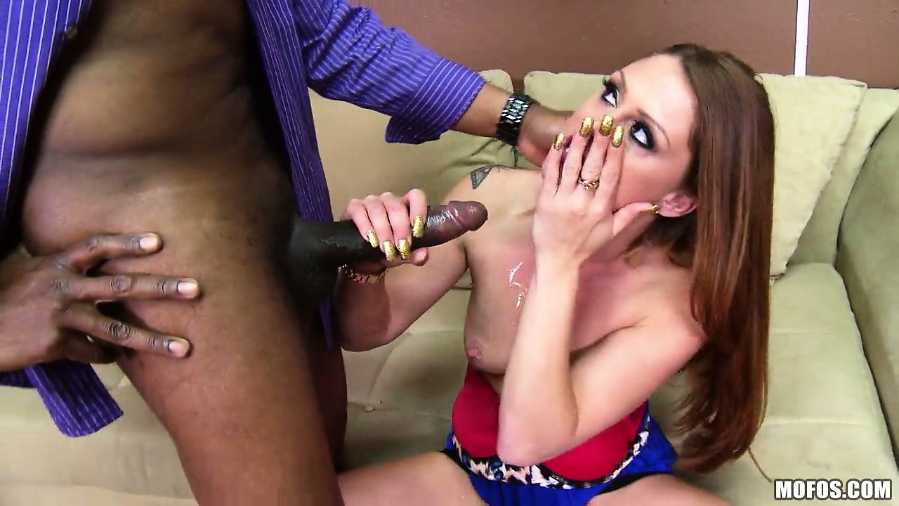 Porn Tube of Naughty Brunette Secretary Gets Shown Who's The Boss By His Big Black Dick