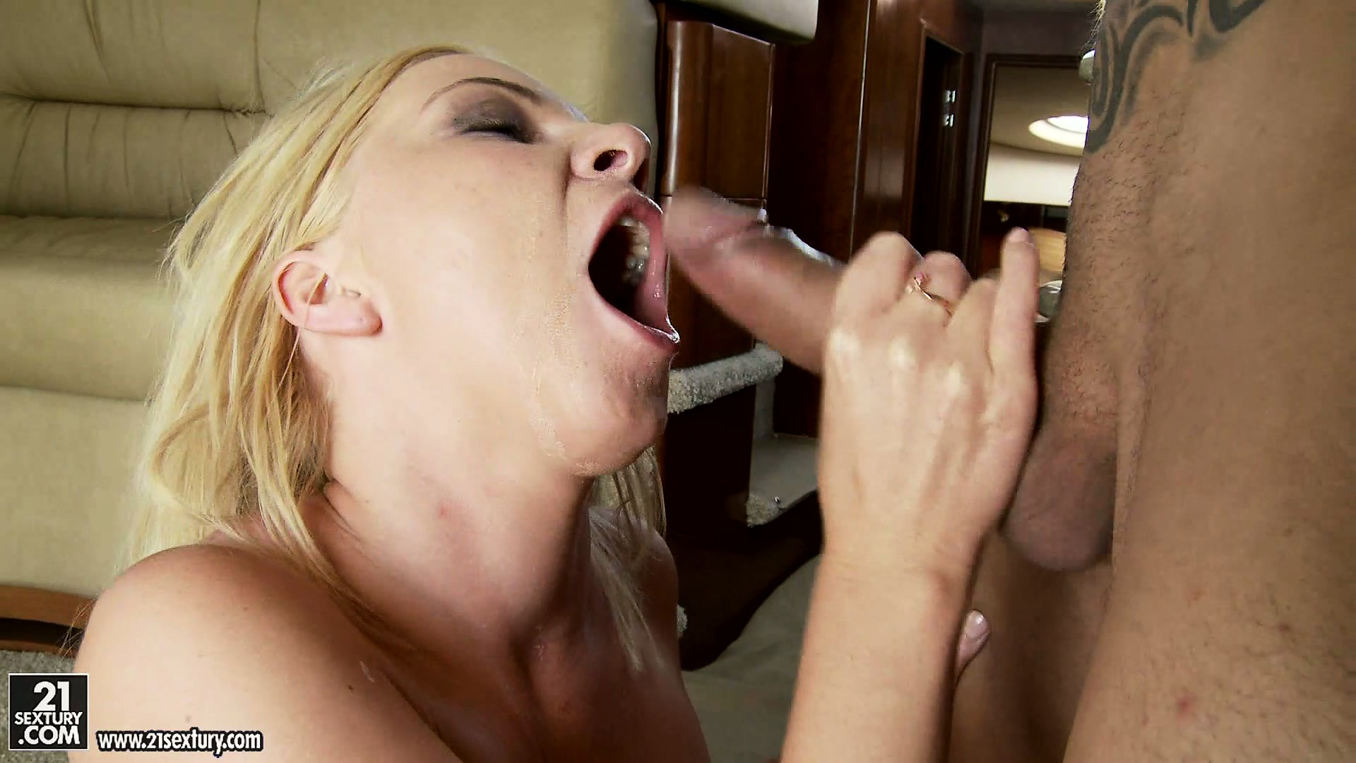 Porn Tube of He Pumps Her Asshole, Rides It Hard And She Goes Ass To Mouth For Cum